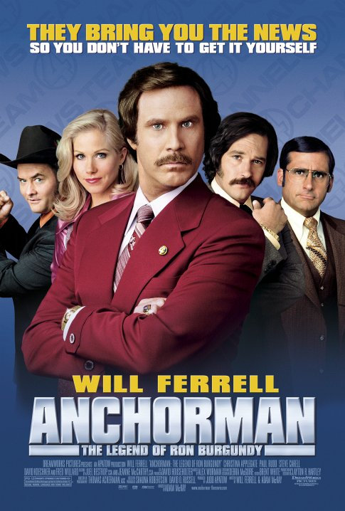 anchorman the legend of ron burgundy film tv tropes