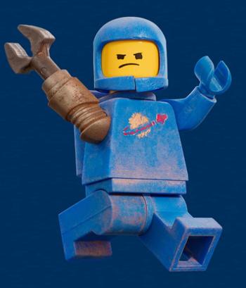 NIP Lego Minifigures The Lego Movie 2 Apocalypseburg Abe
