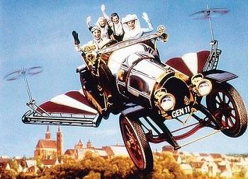 Flying Car - TV Tropes