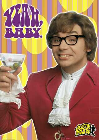 Austin Powers Hairy