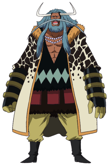 one piece blackbeard pirates characters tv tropes