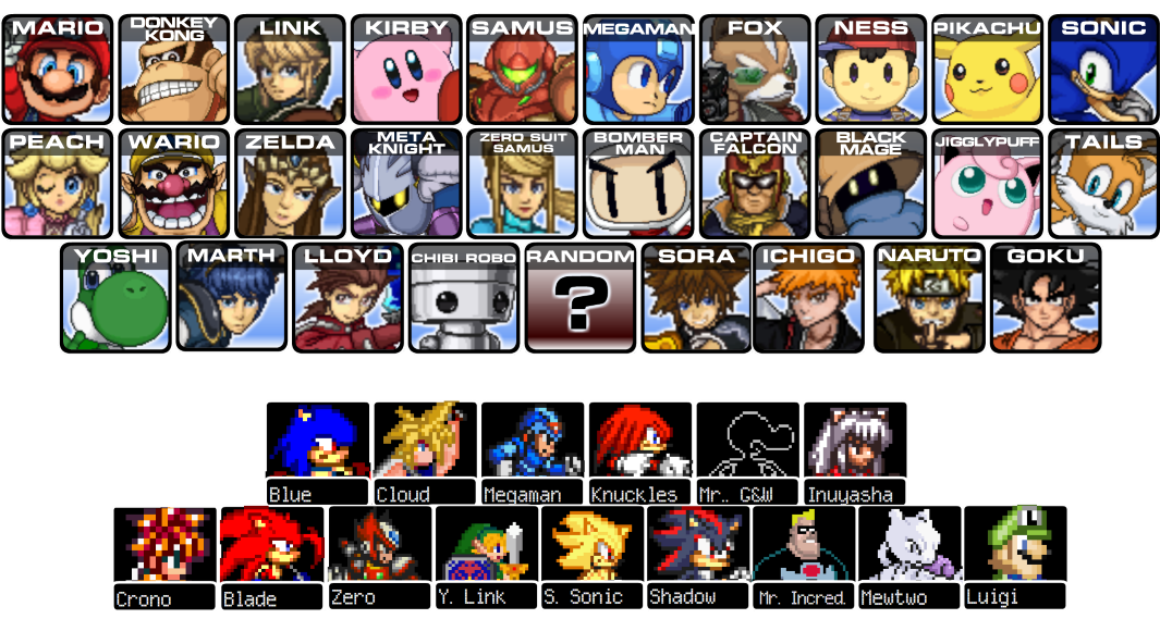 play super smash flash 1