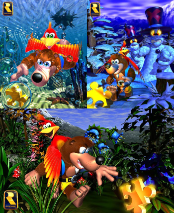 https://static.tvtropes.org/pmwiki/pub/images/banjo_kazooie_collage.png