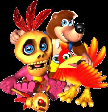 Banjo-Kazooie (Video Game) - TV Tropes