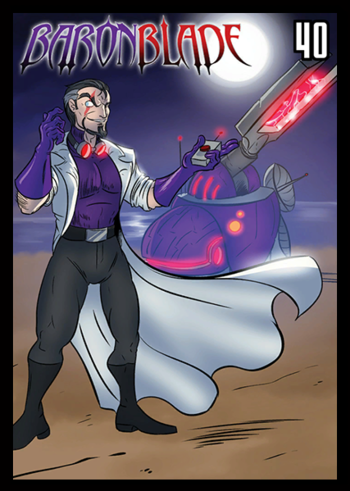 Sentinels Of The Multiverse Villains A To G Characters Tv Tropes