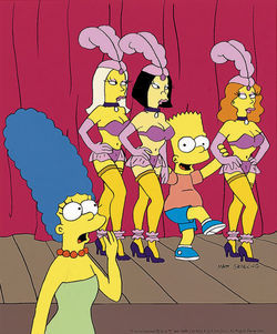 marge simpson night clothes