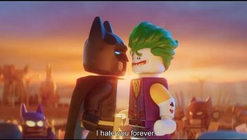 The Lego Batman Movie Ho Yay Tv Tropes