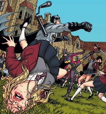http://static.tvtropes.org/pmwiki/pub/images/batman-punching-schoolgirl-1302650055_2837.jpg