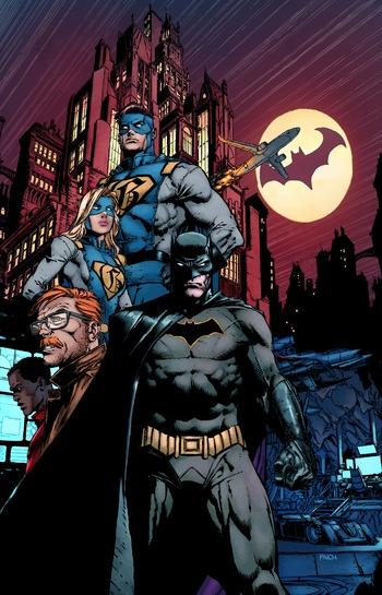 Batman Rebirth Comic Book Tv Tropes