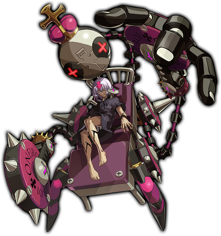 Guilty Gear Xrd: Rev 2 - Character Color: Eclipse 2017 pc game Img-2