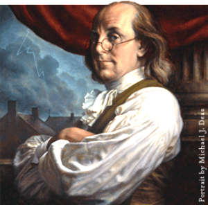 Can this sentence about the autobiography of benjamin franklin be reworded better?