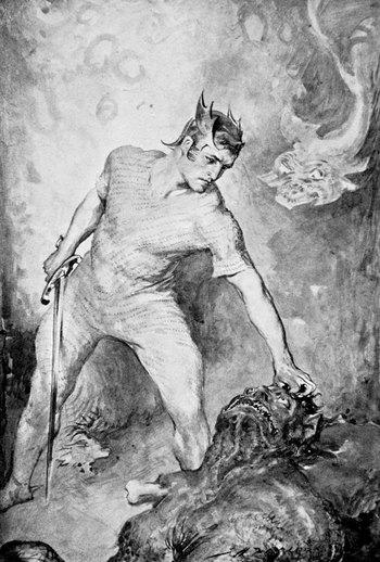https://static.tvtropes.org/pmwiki/pub/images/beowulf_grendel_head_illustration_british_race_legends_1910.jpg