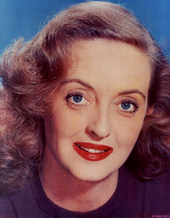 bette davis creator tv tropes. Black Bedroom Furniture Sets. Home Design Ideas
