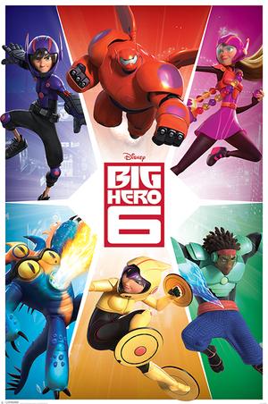 Big Hero 6 Western Animation Tv Tropes