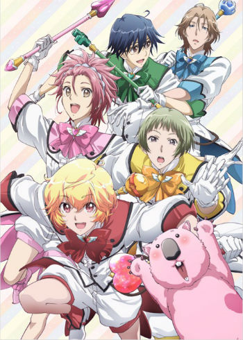 Anime Cute High Earth Defense Club LOVE