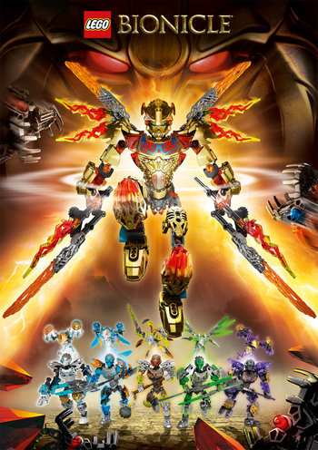 Bionicle 2015 Characters Tv Tropes