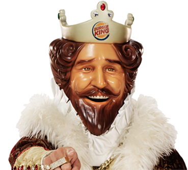 the burger king advertising tv tropes