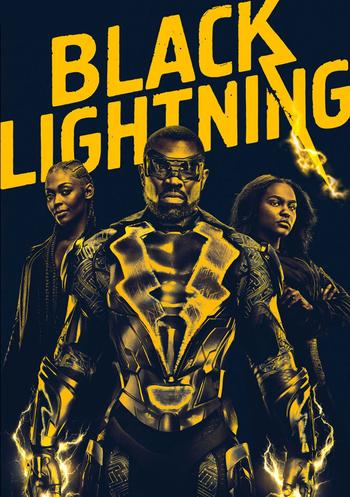 Black Lightning Stream