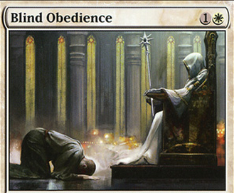 The Blind Obedience in the Lottery