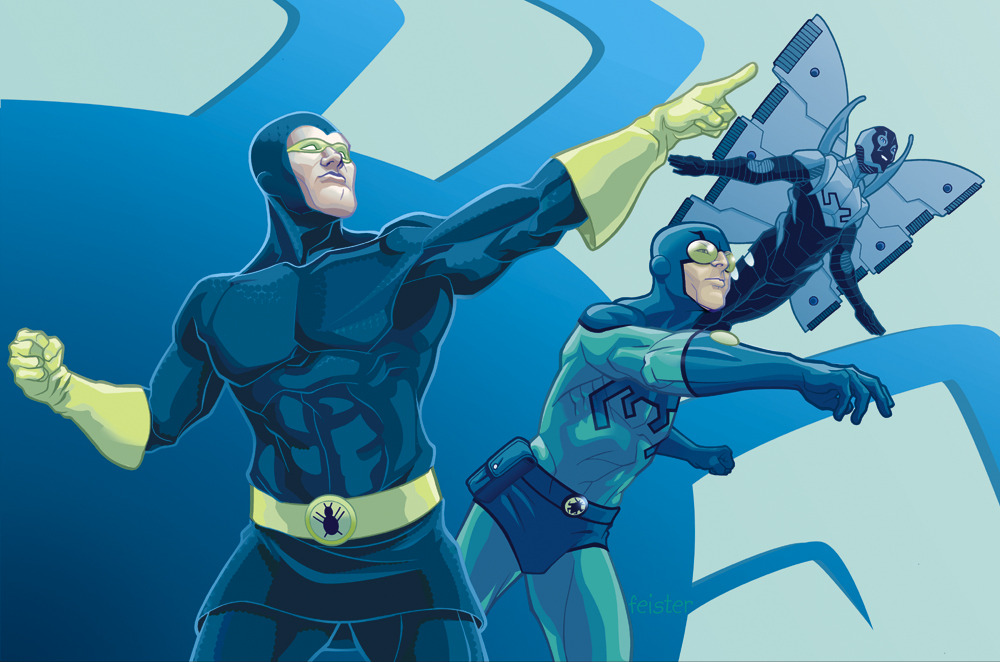 blue beetle comic book tv tropes