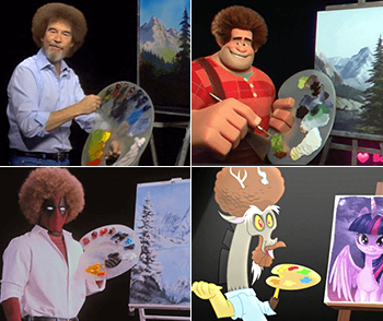Bob Ross Rib Tv Tropes