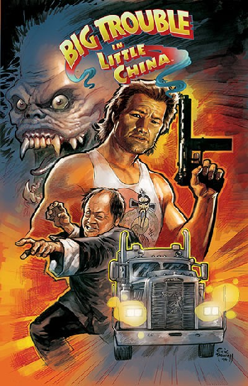 big trouble in little china comic book tv tropes. Black Bedroom Furniture Sets. Home Design Ideas