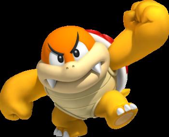 Super Mario Bros The Koopa Kingdom Characters Tv Tropes