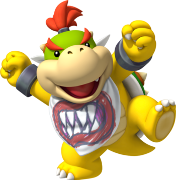 Super Mario Bros Bowser Jr Characters Tv Tropes