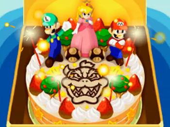Excellent Mario Luigi Bowsers Inside Story Heartwarming Tv Tropes Funny Birthday Cards Online Unhofree Goldxyz