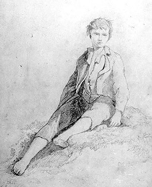 http://static.tvtropes.org/pmwiki/pub/images/boy_sitting_barefoot_and_hatless_by_john_sell_cotman.jpg
