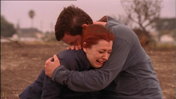 https://static.tvtropes.org/pmwiki/pub/images/buffy_xander_willow_grave_yellow_crayon_i_love_you_willow.jpg