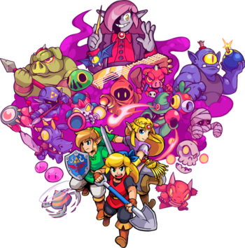 Cadence Of Hyrule Video Game Tv Tropes