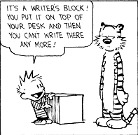 Writers block the sequal
