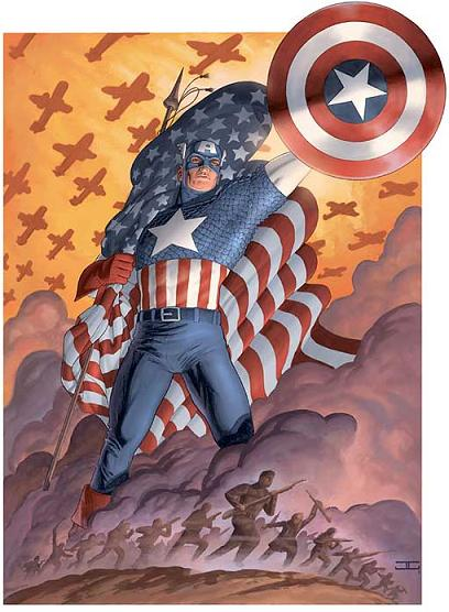 Captain America Comic Book Tv Tropes