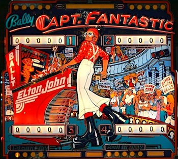 elton captain fantastic pinball machine
