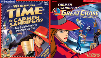 https://static.tvtropes.org/pmwiki/pub/images/carmen_sandiego_where_in_time_97_and_great_chase_through_time_covers.png