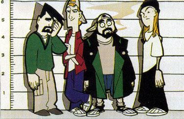 clerks the animated series western animation tv tropes