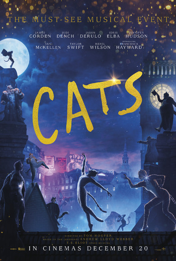 Image result for cats movie poster 2019