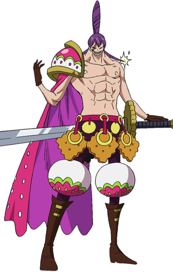 One Piece: Three Sweet Commanders / Characters - TV Tropes