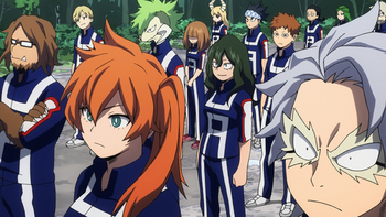 My Hero Academia - Class 1-B / Characters - TV Tropes