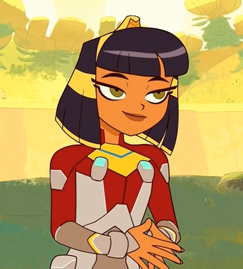 Cleopatra In Space Characters Tv Tropes