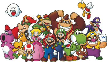 Super Mario Bros Characters Tv Tropes
