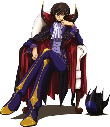 Code Geass Lelouch Lamperouge / Characters - TV Tropes