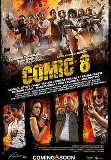 Comic 8 Film Tv Tropes