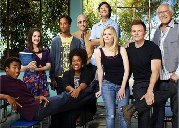 Community series tv tropes for Community tv show pool episode