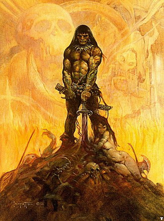 Something is. conan the barbarian with women