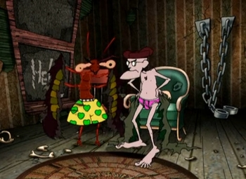 Funny / Courage The Cowardly Dog