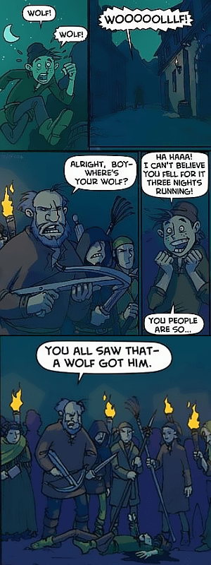 Crying Wolf Tv Tropes