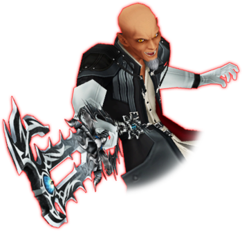 Image result for master xehanort keyblade