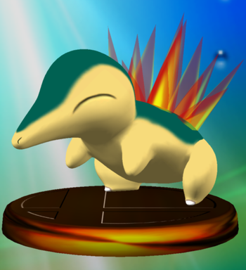 https://static.tvtropes.org/pmwiki/pub/images/cyndaquil_trophy_melee.png